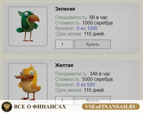 Money Birds